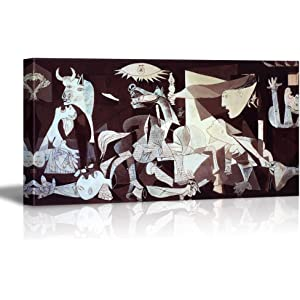 wall26 - Canvas Wall Art - Guernica by Picasso - Modern Home Decor Stretched and Framed
