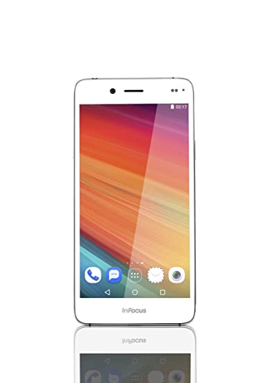 Infocus M535 (Silver) Smartphones at amazon