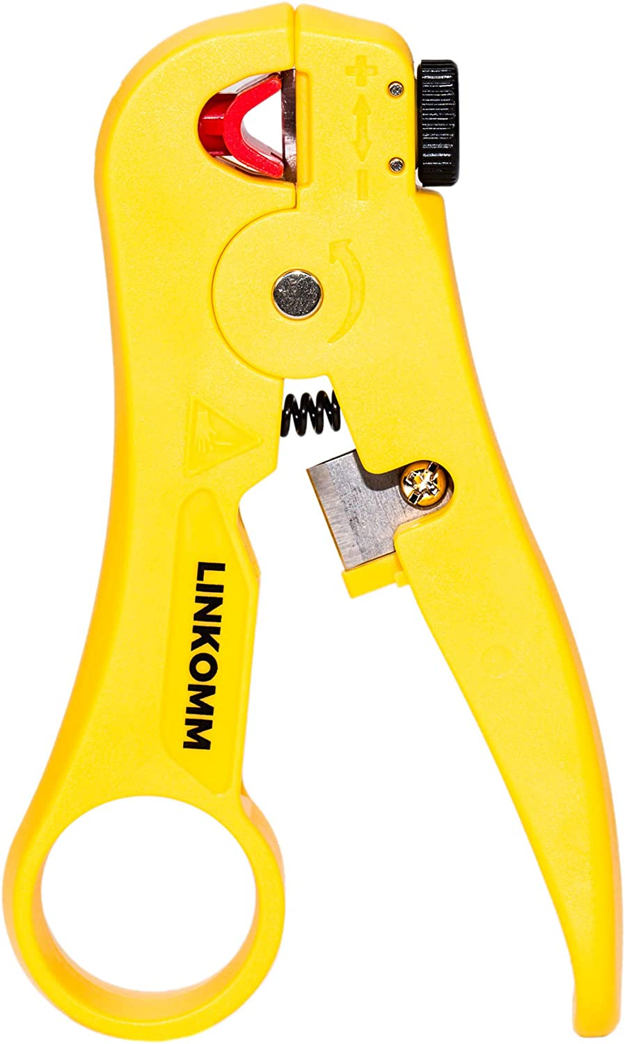 Network Cable Stripper Wire Cutter Rotary Stripping Hand Tool for Round Cables