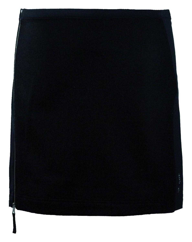 Black Skhoop Penny Short Skirt