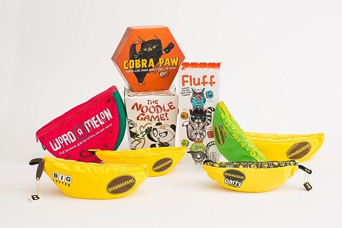 UK Bananagrams Banana Word Anagram Spelling Puzzle Family Kids Travel Game