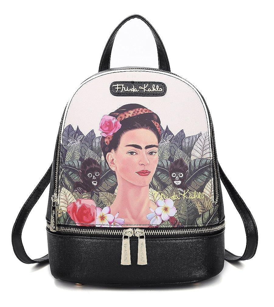 Jungle Collection Frida Kahlo Licensed Backpack