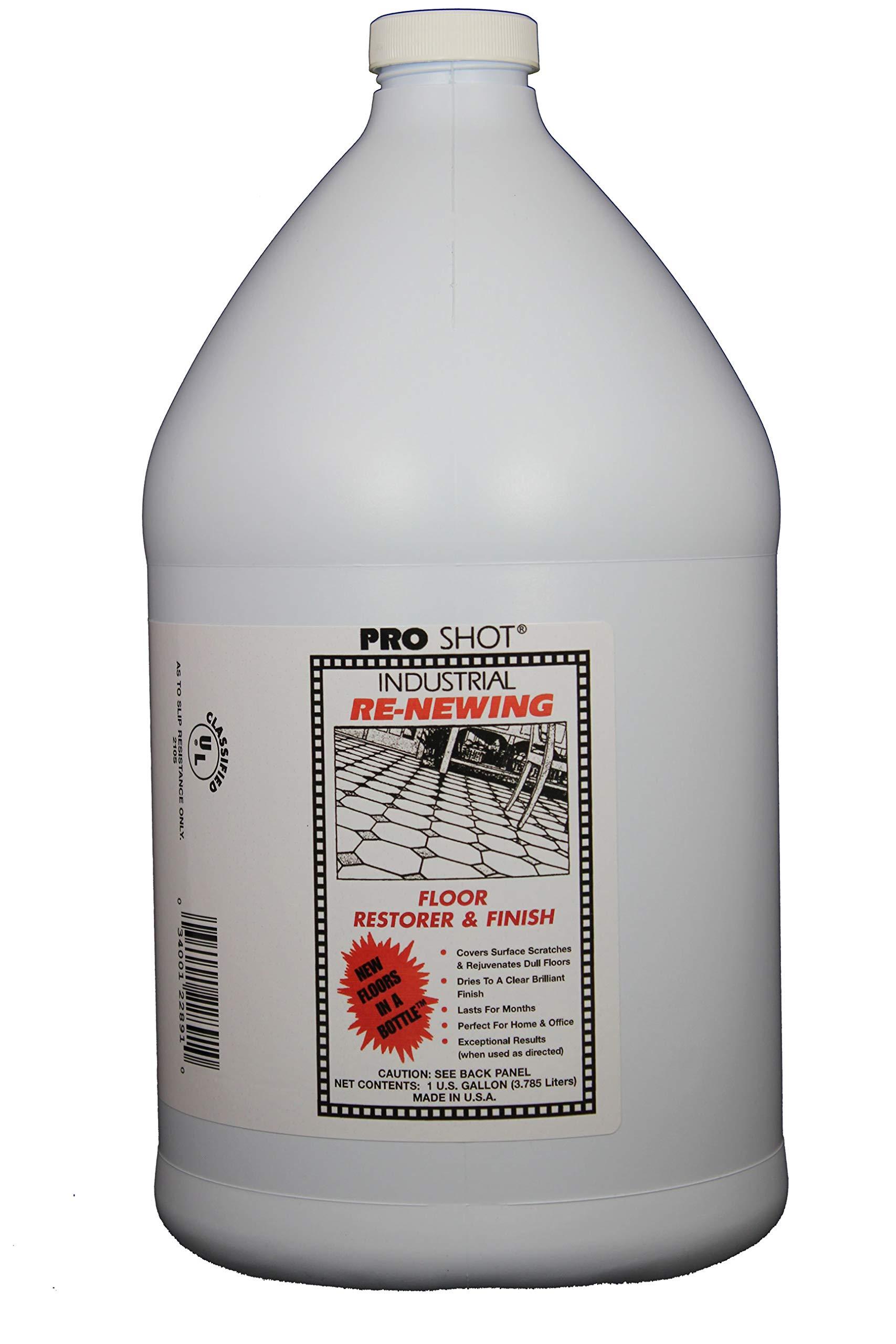 PRO SHOT Industrial Re-Newing Floor Restorer & Finish - 1 Gallon by PRO SHOT