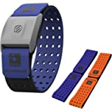Scosche Rhythm+ Heart Rate Monitor Armband - Optical Heart Rate Armband Monitor with Dual Band Radio ANT+ and Bluetooth…
