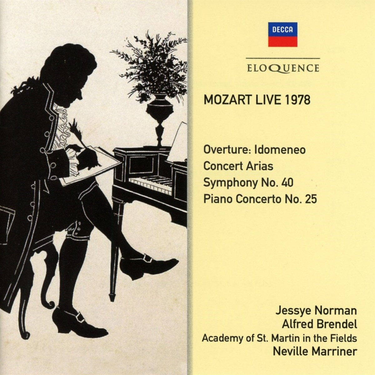 Mozart Live 1978 by Eloquence Australia