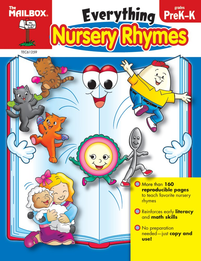 Everything Nursery Rhymes PreK K The Mailbox Books Staff