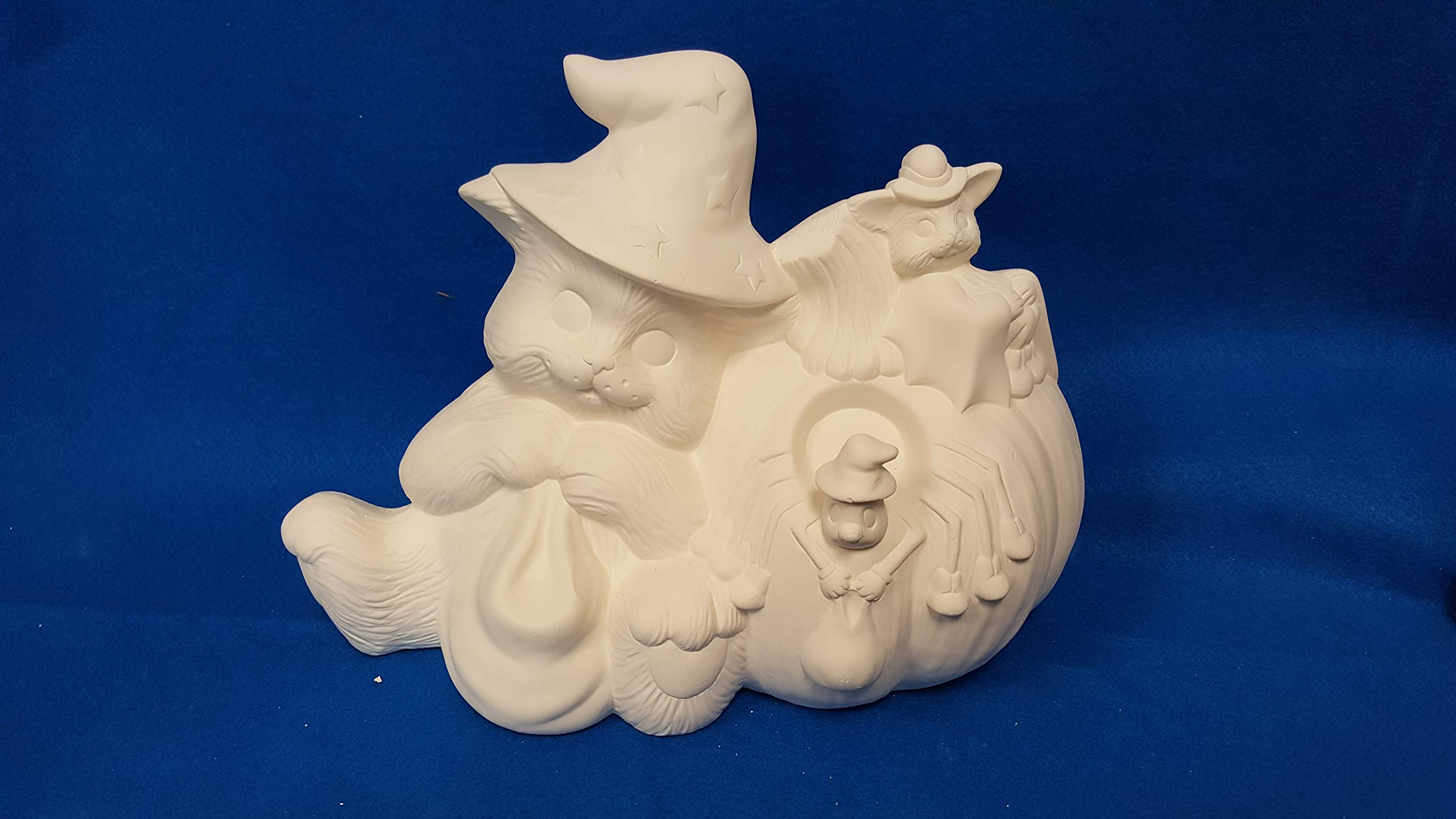 Halloween Cute Animals unpainted ceramic bisque ready to be painted