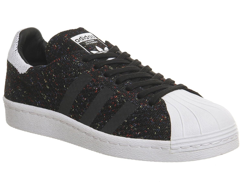 adidas Superstar 80's Primeknit Hombre Zapatillas Negro 37 1/3 EU|Noir