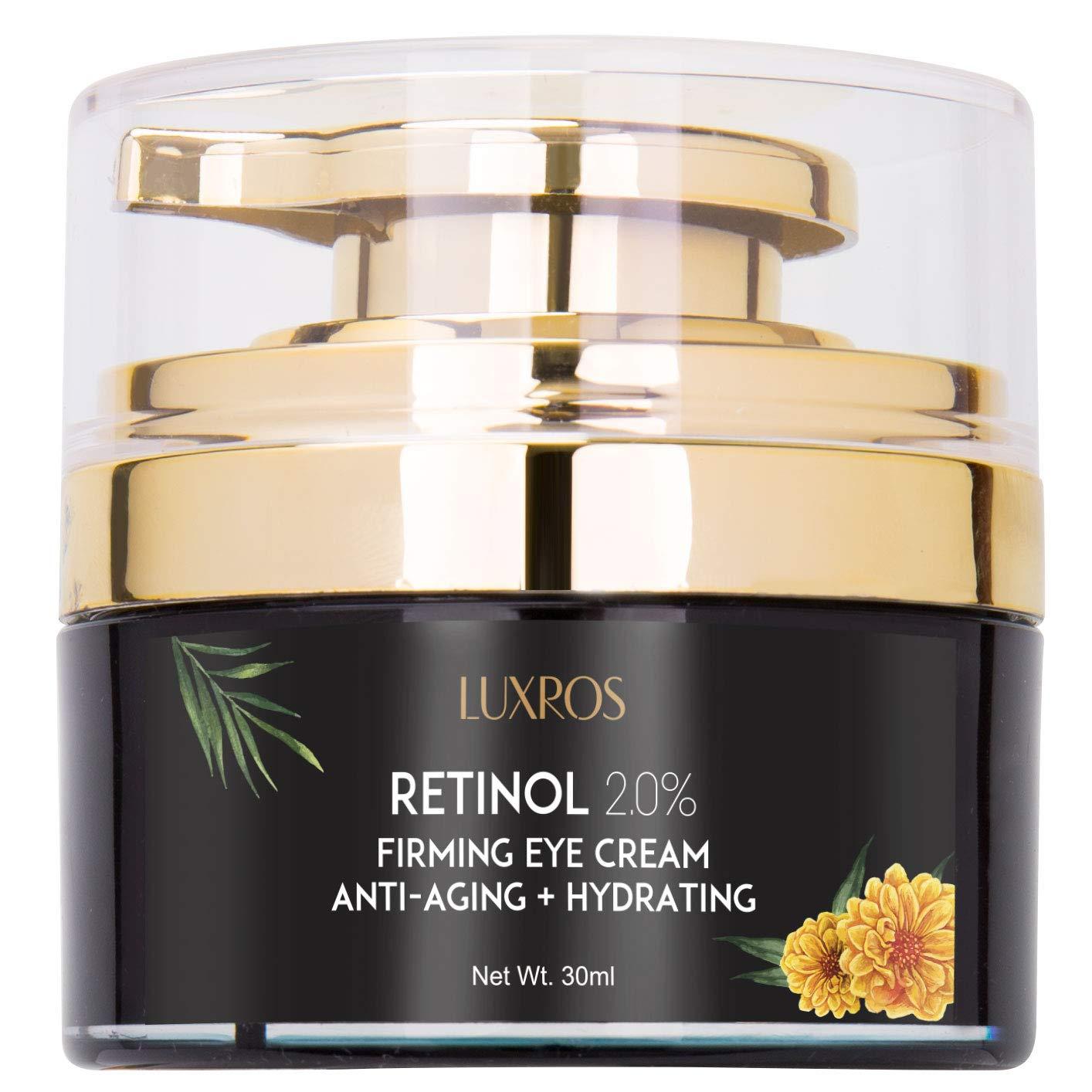Eye Cream with Retinol 0.1, Nutrient Rich Night Cream for Under Eye Wrinkles, Anti Aging, Nutrient Rich Night Cream for Under Eye Wrinkles - 30ML Firehouse Media Limited AsaVea JNGL6-TP
