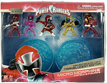 Power Rangers Micro Morphers Mighty Morphin Pink Ranger