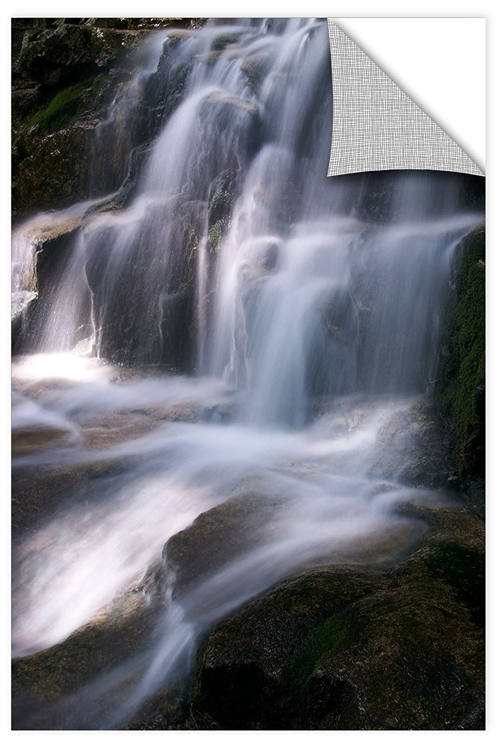 ArtWall James Thompsons Staircase Waterfall 1 Removable Wall Art Mural 24X36