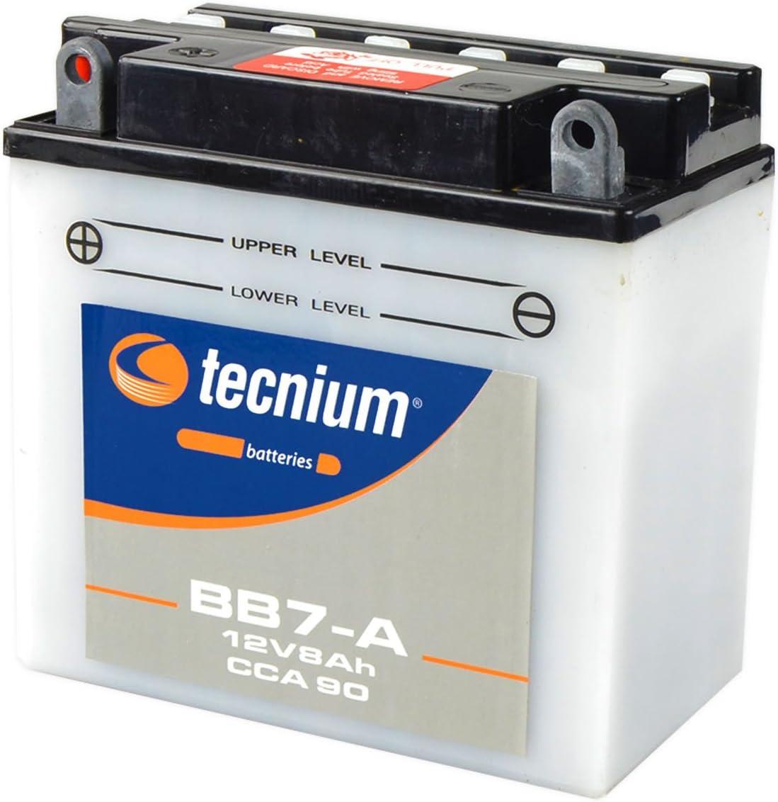TECNIUM Batterie BB12C-A conventionnelle avec pack acide