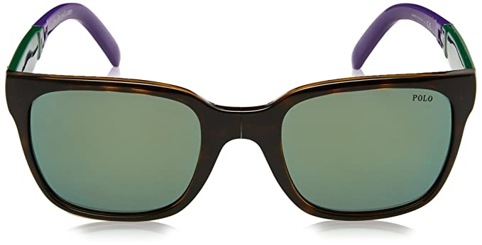 df18f473a5 Amazon.com  Polo Ralph Lauren Men s 0ph4089 Non-Polarized Iridium Square  Sunglasses folding shiny dark havana 53.9 mm  Clothing