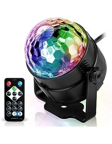 Disco Ball LED Lámpara de fiesta Controlado por música Disco Light Effects Disco luz, 7