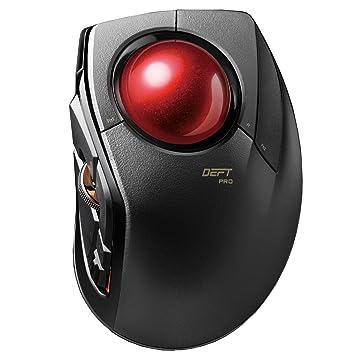 ELECOM m-dpt1mrxbk Zeitgeist Pro Gaming Trackball Maus: Amazon.de ...