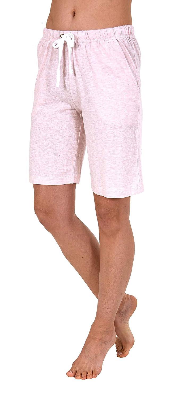 Mix /& Match NORMANN W/ÄSCHEFABRIK Damen Bermuda Pyjama Hose kurz perfekt zum kombinieren 191 224 90 902