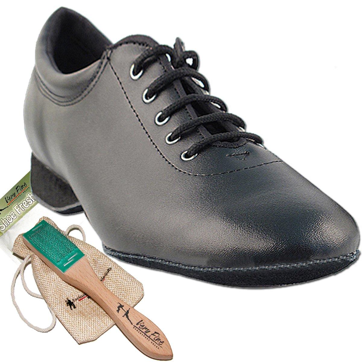 [Very Fine Shoes] レディース B00ACRF49S ブラックレザー 7.5 (B,M) US