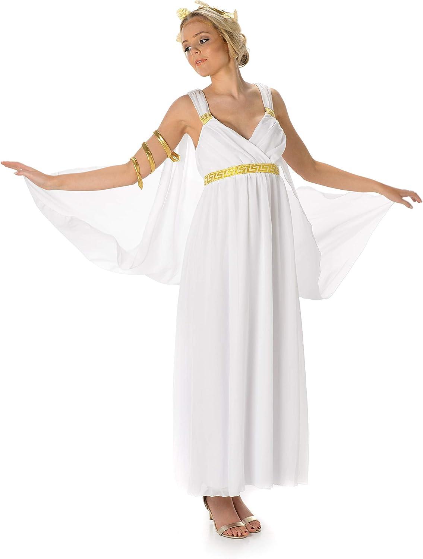 Disfraz de Diosa Griega – Halloween Aphrodite Toga y Accesorios ...