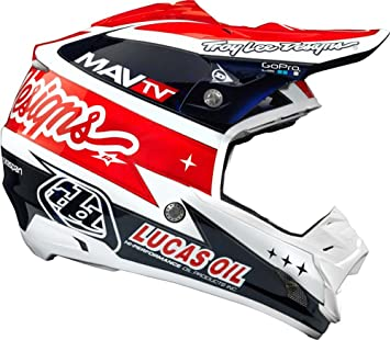Troy Lee Designs Team SE3 MotoX - Casco de moto, color blanco