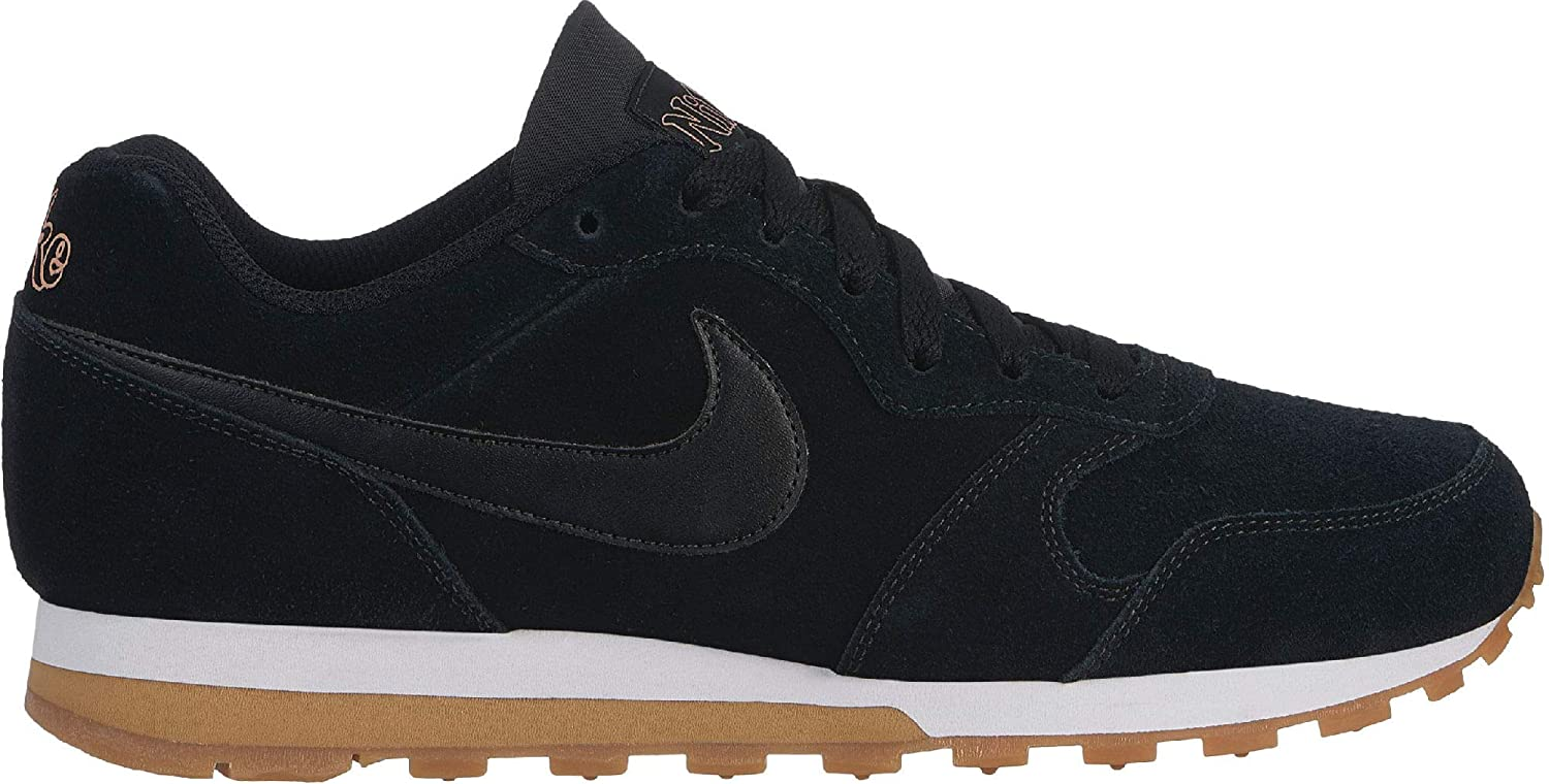 disfruta del precio inferior entrega rápida 2020 Nike Women's MD Runner 2 SE Trainers Black, Men, AQ9121, Black ...