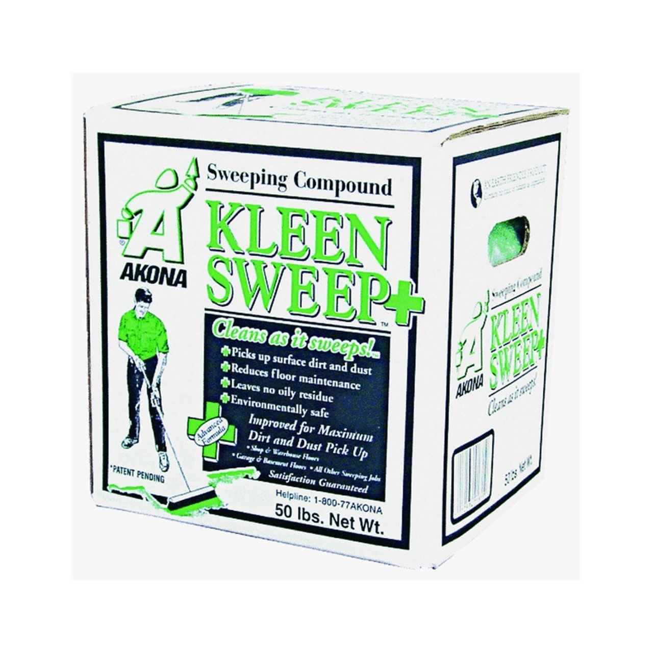 Amazon.com: Kleen 1815 Kleen Sweep Plus Sweeping Compound (Box Of 50 Lbs):  Industrial U0026 Scientific