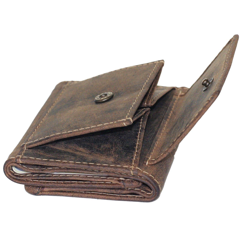 Mano Greenburry/ /1793/ /25/Vintage Peque/ño Monedero de Piel Cartera