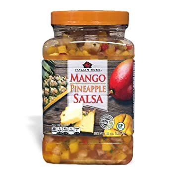 Italian Rose Mango Pineapple Salsa (48 oz.) - SCL