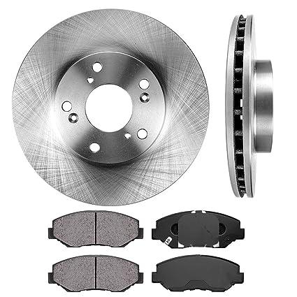 Disc Brake Rotors >> Front 282 Mm Premium Oe 5 Lug 2 Brake Disc Rotors 4 Ceramic Brake Pads
