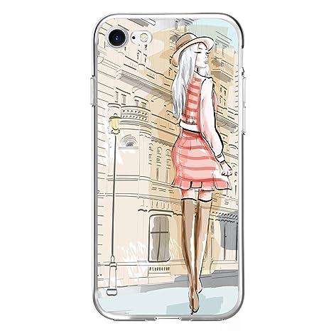 MTT Designer Pattern Printed Soft Back Cover case for Apple iPhone 7  Design24  Mobile Accessories