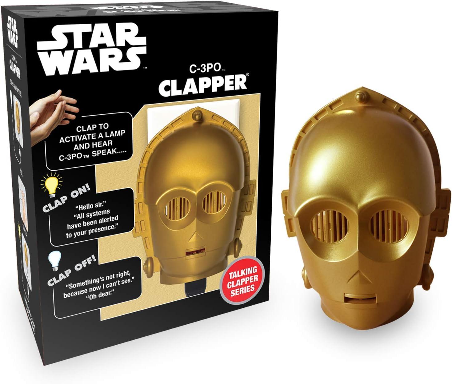 C-3PO clapper on/off light switch