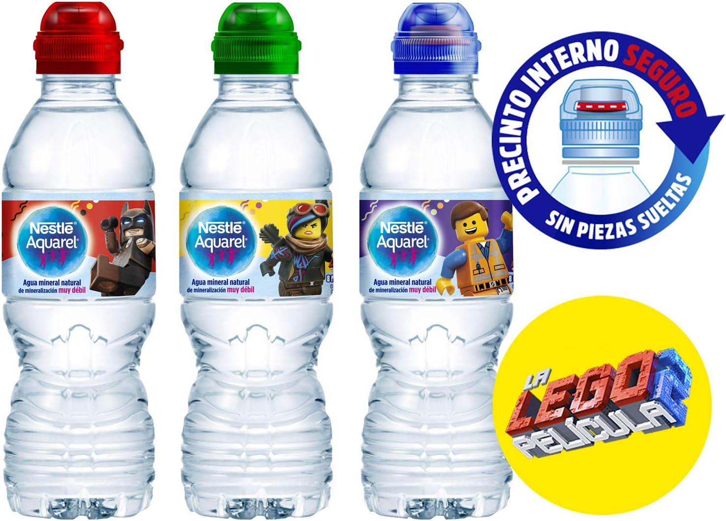 Nestlé Aquarel - 33 cl Tapón Sport Agua Mineral Natural ...