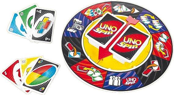 Juegos Mattel - Uno spin (Mattel K2784): Amazon.es: Juguetes y juegos