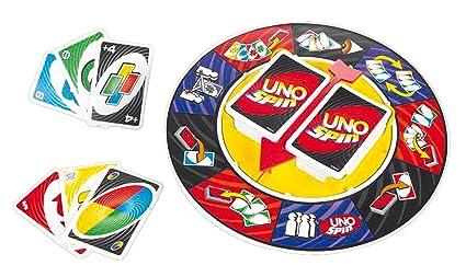 Mattel Games Uno Spin Amazon Com Mx Juegos Y Juguetes