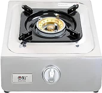 NJ NGB-100 Estufa de gas portátil 1 quemador Wok acero inoxidable 3.8kW al aire libre: Amazon.es: Grandes electrodomésticos