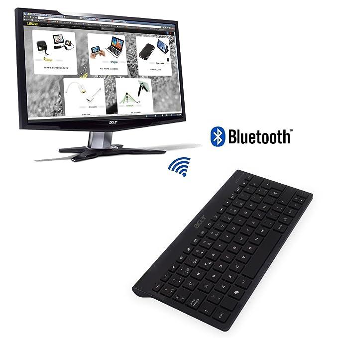 Teclado Bluetooth ESPAÑOL KT-1082 para ACER ICONIA Tab A100 A200 A500 A700 W510 W511 W700 Google Nexus 4 7 10 Sony Xperia Z: Amazon.es: Electrónica