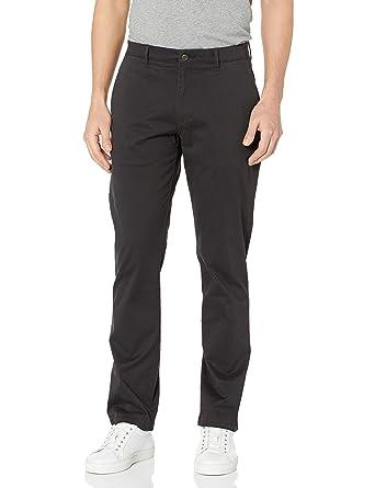 Marca Pantalones De Lona Elasticos Con Bolsillos Para Caballero Goodthreads Corte Ajustado Pantalones