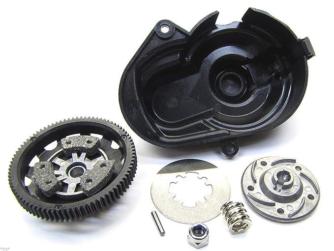 Traxxas Rustler VXL * 83T Spur Gear, Slipper Clutch W/acero Disco y almohadillas de fricción: Amazon.es: Juguetes y juegos