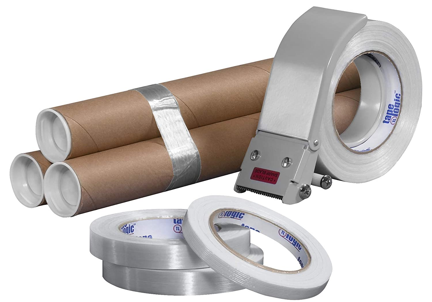 1//2 x 60 yd Ship Now Supply SNT9131300 1//2 x 60 yd Tape Logic 1300 Strapping Tape