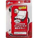 CYBER ・ ラバーコートグリップ スリム ( New 3DS LL 用) ブラック 【 コンパクトタイプ 】