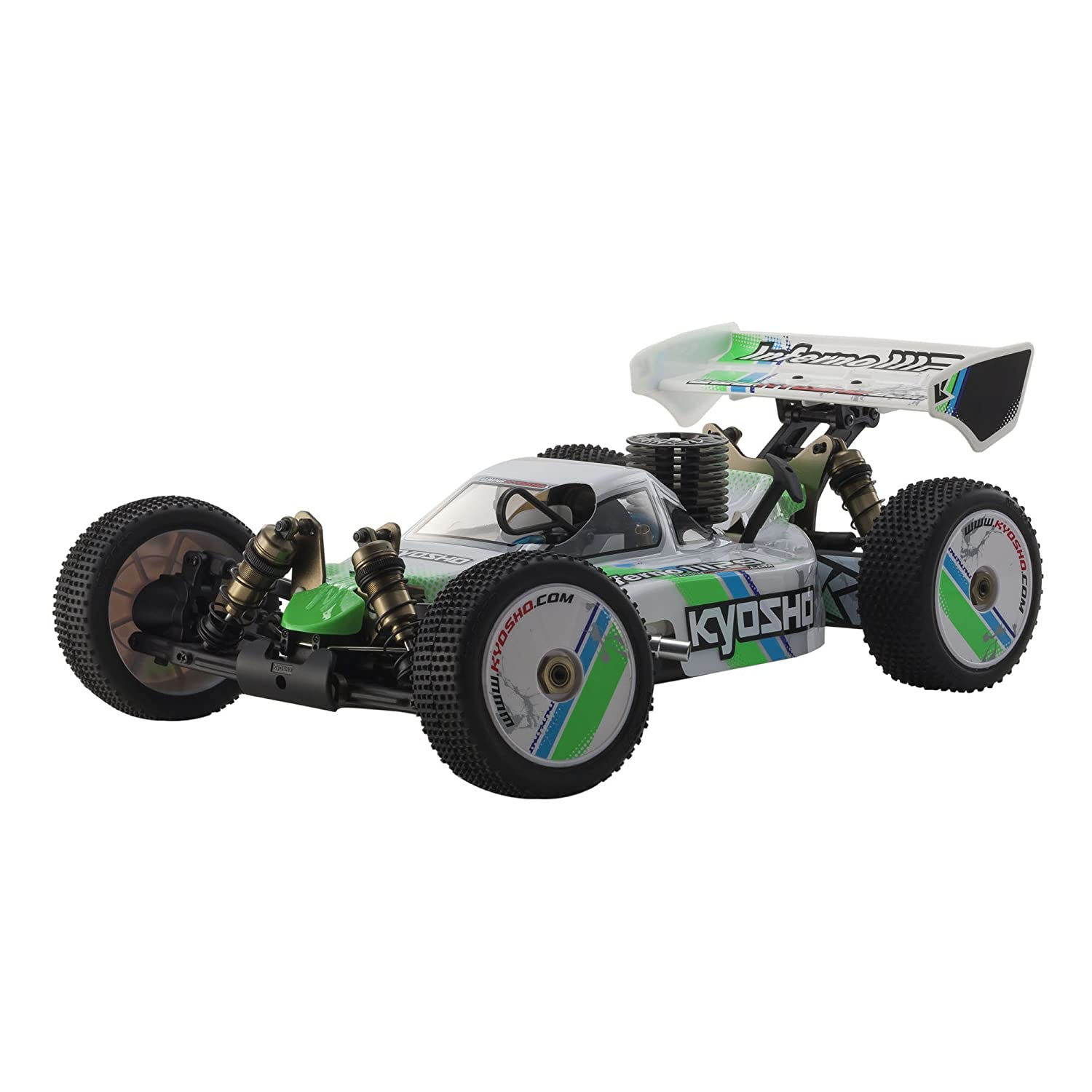 Kyosho Inferno MP9 TKI Ready Set RTR Nitro-Powered Racing Buggy