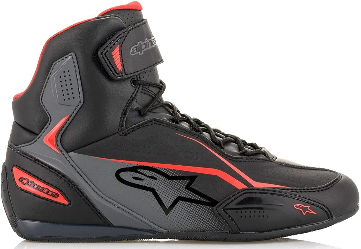 7.5, Black//Black Alpinestars Faster-3 Shoes