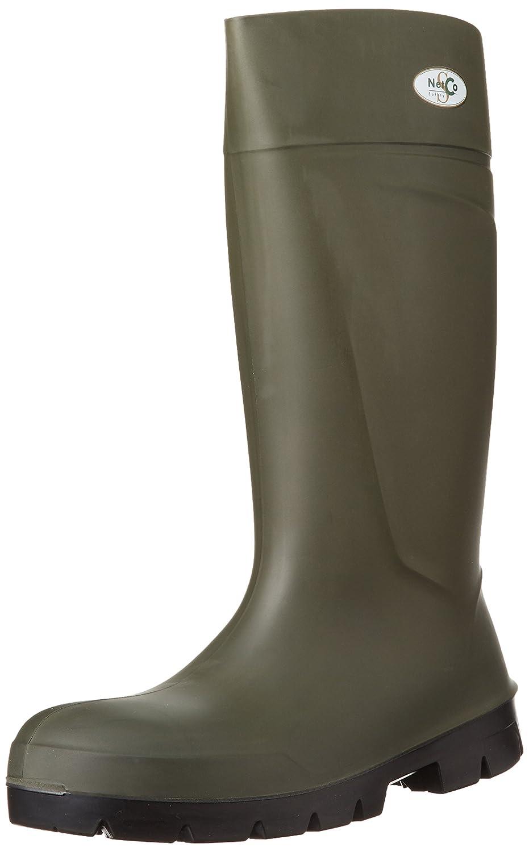 [シモン] ワークシューズ ウレタンブーツ B002P7YRSM グリーン 25.5 cm 3E
