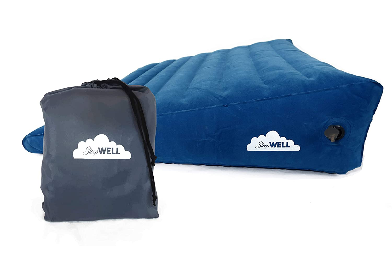 Amazon.com: Cuña de cama grande hinchable portátil con ...