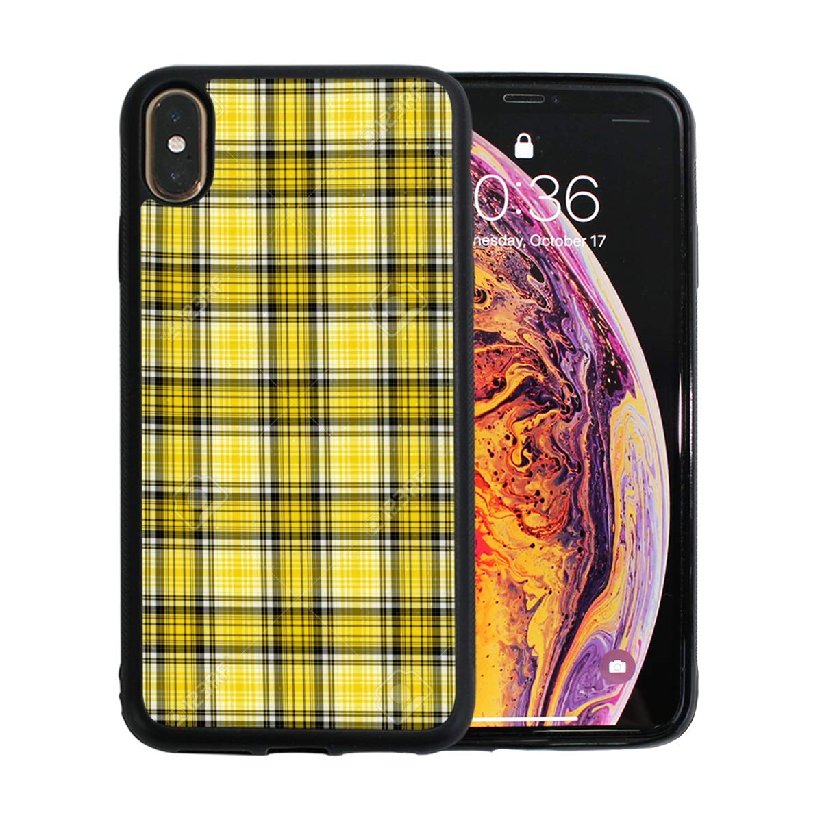 tartan iphone xs max case
