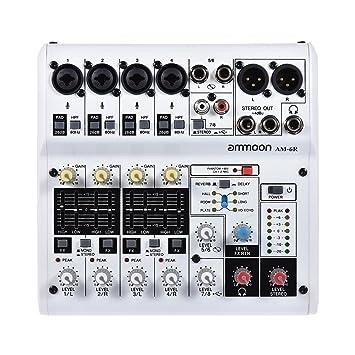 table de mixage dj avec carte son integree