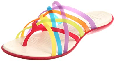 dcfe073f93ee Crocs Huarache Flip Flop W