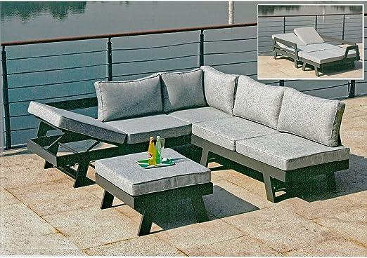 Conjunto Donna 3tlg Asiento Grupo Muebles de Jardín (Muebles de Jardín Set: Amazon.es: Jardín