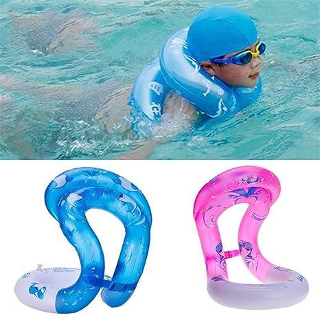 Airbags de doble anillo de natación piscina inflable flotadores para Piscina para adultos de flotación del