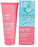 Sand & Sky Flash Perfection Exfoliating Treatment Face Scrub. Australian Pink Clay Facial Exfoliator
