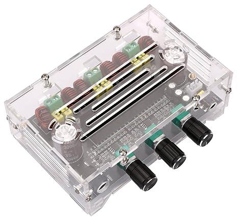 Amazon com: Amplifier Board, Yeeco HiFi 2 1 Channel 80W+80W+100W